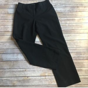 Ann Taylor stretch black dress pants